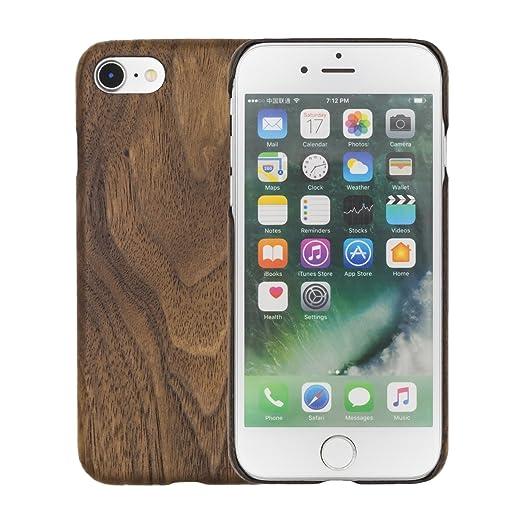 9 opinioni per Kevlar iPhone 7 custodia, LEAPCOVER [Kevlar Aramid & Legno Serie] unico disegno