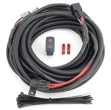 Amazon.com: Truck & SUV Backup/ Auxiliary Lighting Wiring & Switch ...