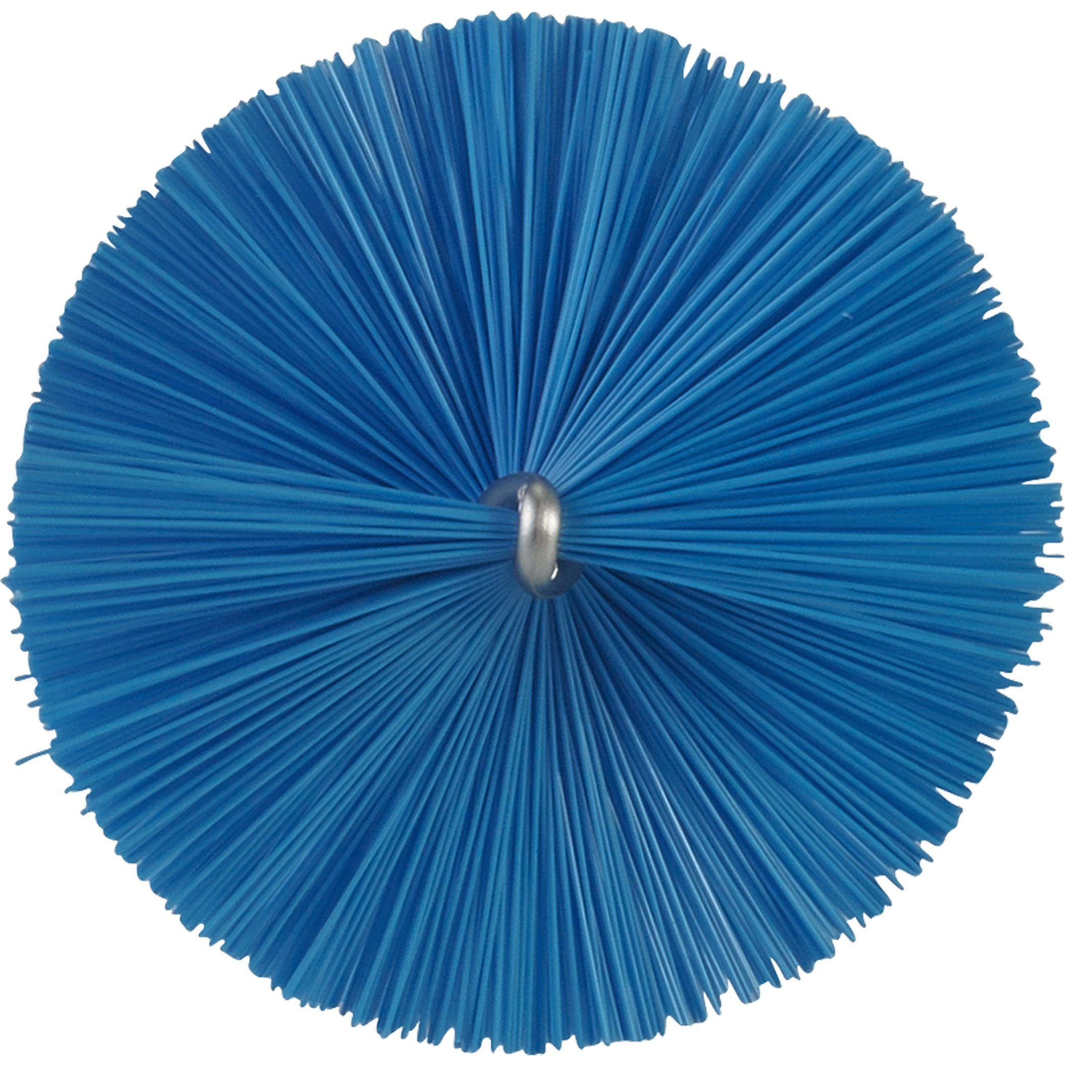 Vikan 53703 Soft Tube Brush, Polyester, 2-25/64'' x 20'' OAL, Blue