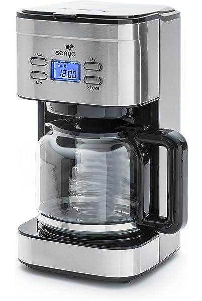 Senya SYBF-CM019 Cafetera programable, 800 W, 1.5 litros ...