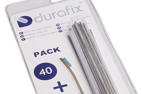 DURAFIX® - 40 Varillas para soldar aluminio + 1 Cepillo inoxidable