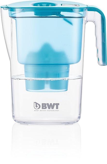 BWT 815480 Vida Mesa con Filtro de Agua, 2,6 L, Cartucho mineralizador