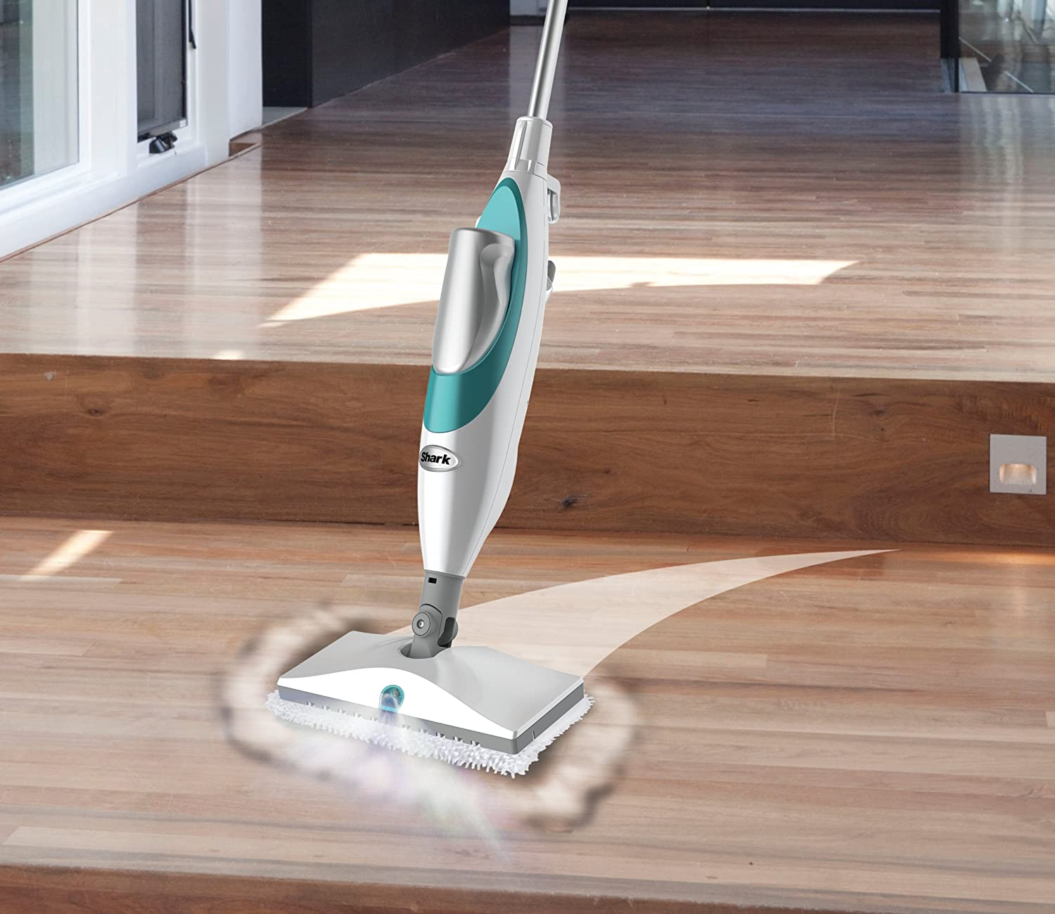 Shark steam pocket mop reviews hardwood floors thefloors co for Wood floor steam cleaner