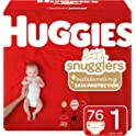 76-Count Huggies Little Snugglers Baby Diapers