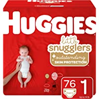 76-Count Huggies Little Snugglers Baby Diapers (Size 1)