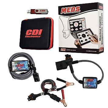 CDI Electronics 5310118i4 Meds Mefi Inboard plataforma fabricado por CDI Electronics: Amazon.es: Coche y moto