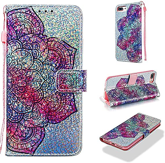 iPhone SE 2020 Case 3D Painting Shock-Absorption Soft PU Leather Notebook Phone Cases with Kickstand Magnetic Card Holder Slim Fit Shockproof Flip Protective Skin Cover for iPhone SE 2020