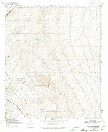 Amazon.com: New Mexico Maps   1955 Tortugas Mountain, NM USGS ...