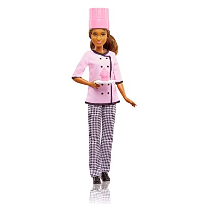 Barbie Cupcake Chef Doll: Toys & Games
