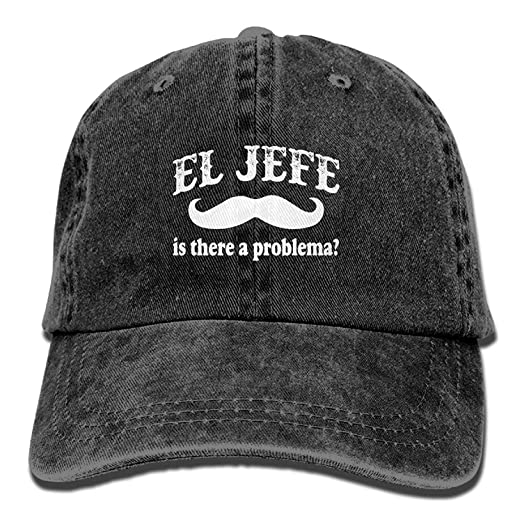 Vintage El Jefe -The Boss in Spanish Mexican Jean Caps Surfing ... e12dbf2aa49