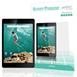 Nexus 9 Screen Protector, amFilm Premium HD Clear Screen Protector for Google HTC Nexus 9 2014 (2 Pack)