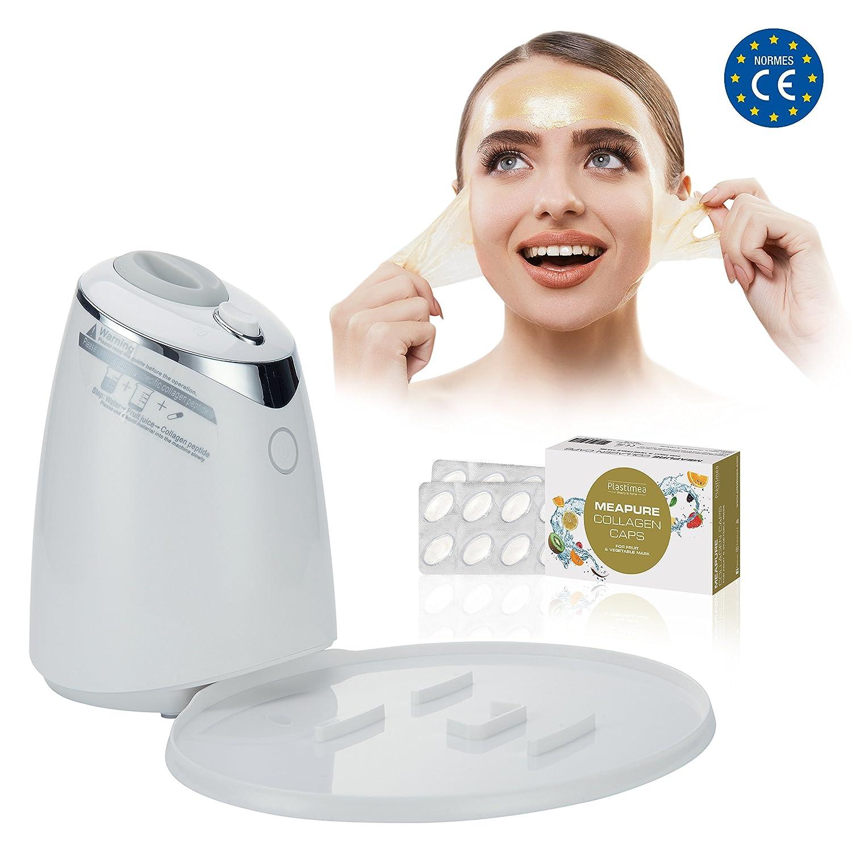 Mascarilla Facial Spa Face Mask Limpireza Cara MEAPURE DIY Exfoliante Natural Pastillas Colageno Hombre y Mujer Mascara Piel: Amazon.es: Belleza