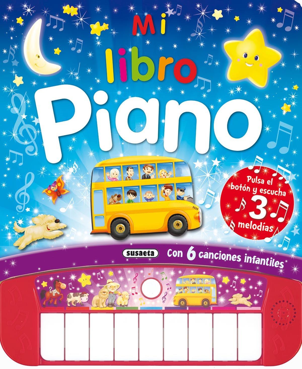 Mi libro piano (Spanish) Board book – 2014