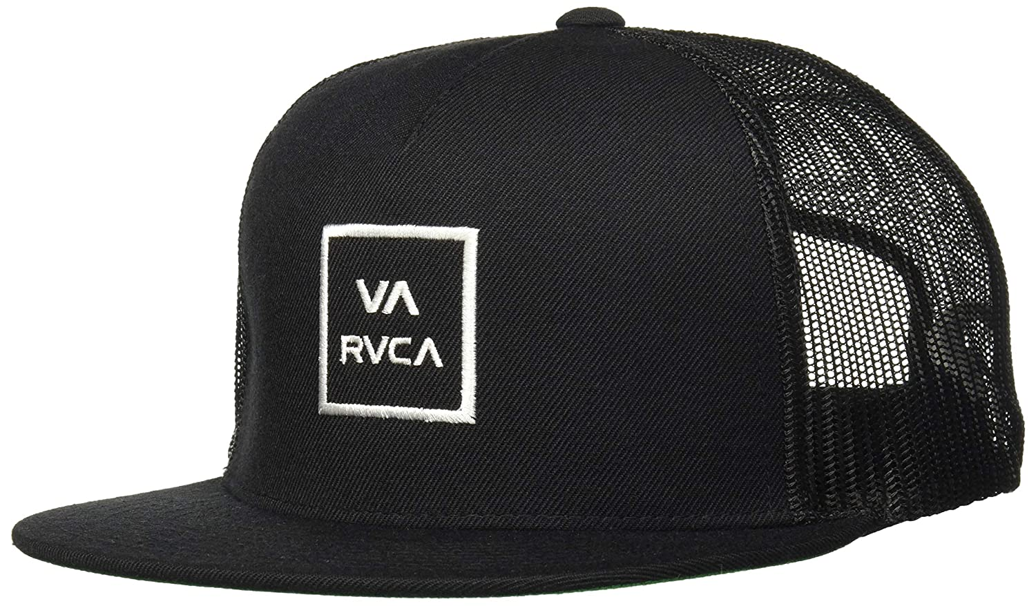 c36eb3b2cf Amazon.com  RVCA Men s Va All The Way Mesh Back Trucker Hat