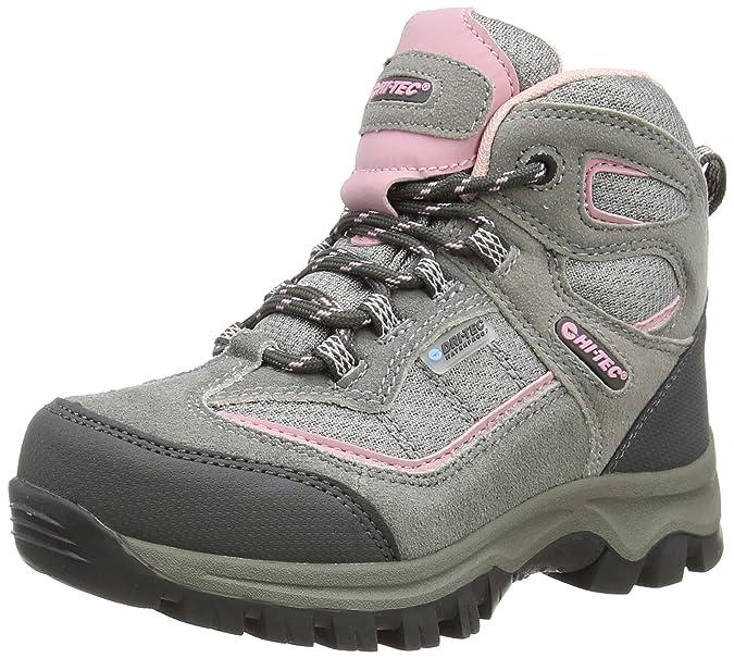 Sneakers grigie per bambina HI-TEC Q7nEko