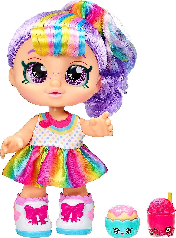 Kindi Kids Snack Time Friends Pre School 10 inch Doll Rainbow Kate