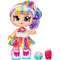Kindi Kids Snack Time Friends - Pre-School Play Doll, Rainbow Kate - for Ages 3+   Changeable Clothes and Removable…
