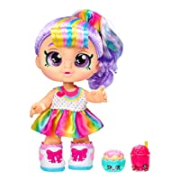 Kindi Kids Snack Time Friends - Pre-School Play Doll, Rainbow Kate - for Ages 3+...