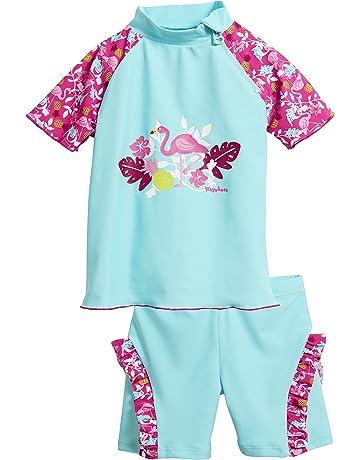 Playshoes Girl s UV Sun Protection 2 Piece Flamingo Swim Set 0936b4c17