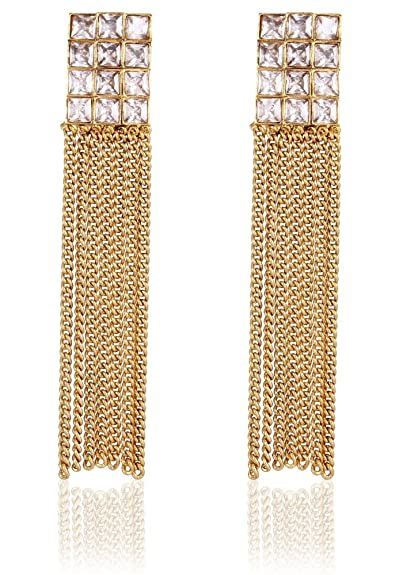 a4ac5433c ... Gold and Rodium Coated Chain for Men and Boys Chains. ₹425. Crunchy  Fashion Trendy Stylish and Fancy Party Wear Earrings for Girls and Women  Earrings