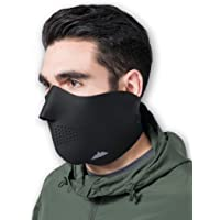 Neoprene Ski Mask - Tactical Winter Face Mask - Perfect for Skiing Snowboarding & Motorcycling