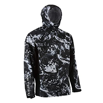 516810d711f4c HUK CYA Camo Packable Men's Rain Jacket- Hydro Blackwater, Small