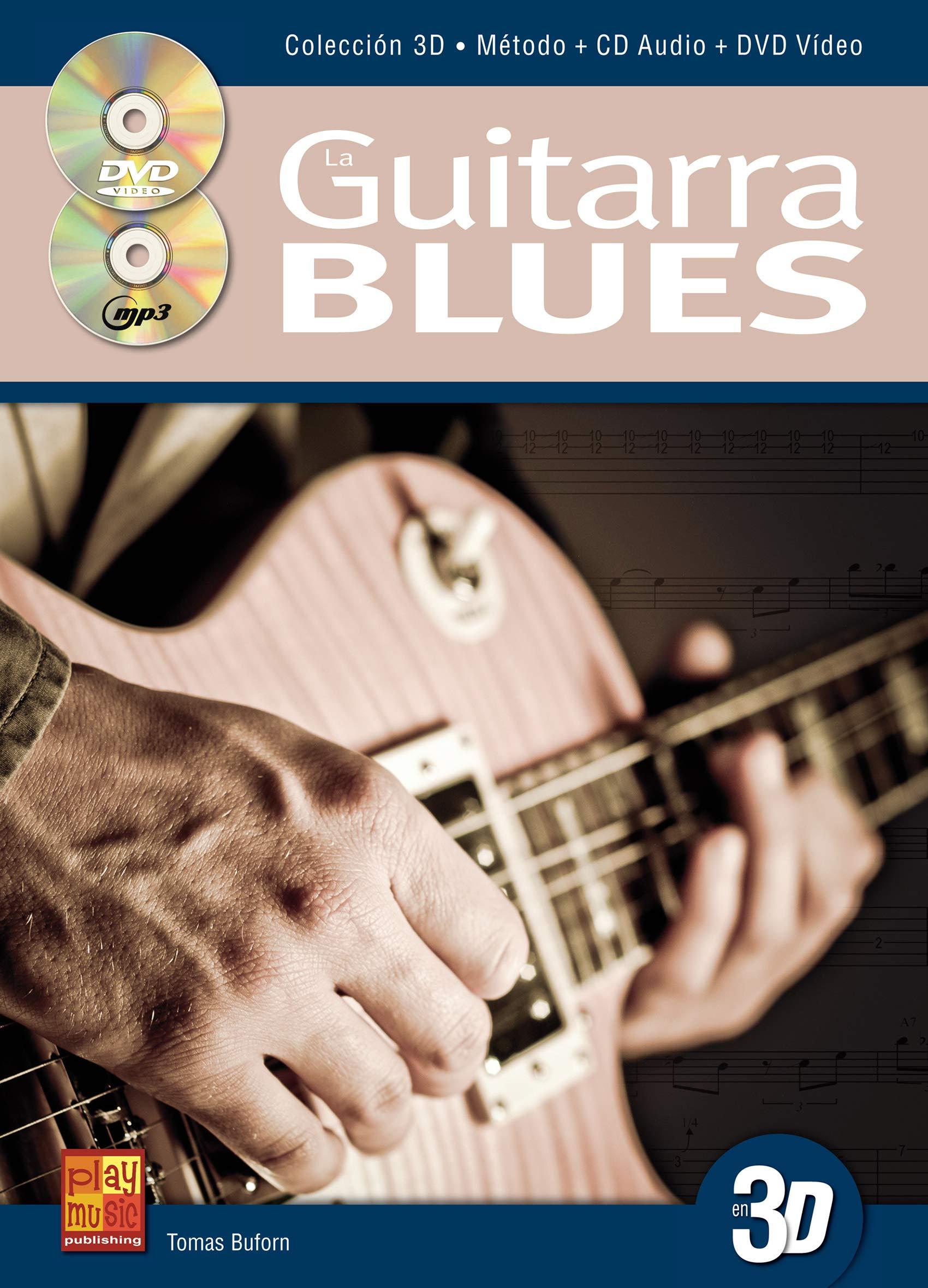 La guitarra blues en 3D - 1 Libro + 1 CD + 1 DVD: Amazon.es: Tomas ...