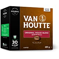 Van Houtte Original House Single Serve Keurig Certified Recyclable K-Cup pods for Keurig brewers, 30 Count