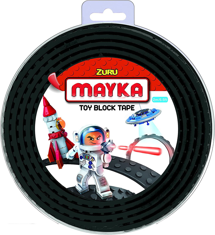 MAYKA Block Tape,red,Medium 2 m NOPS 2 Meter