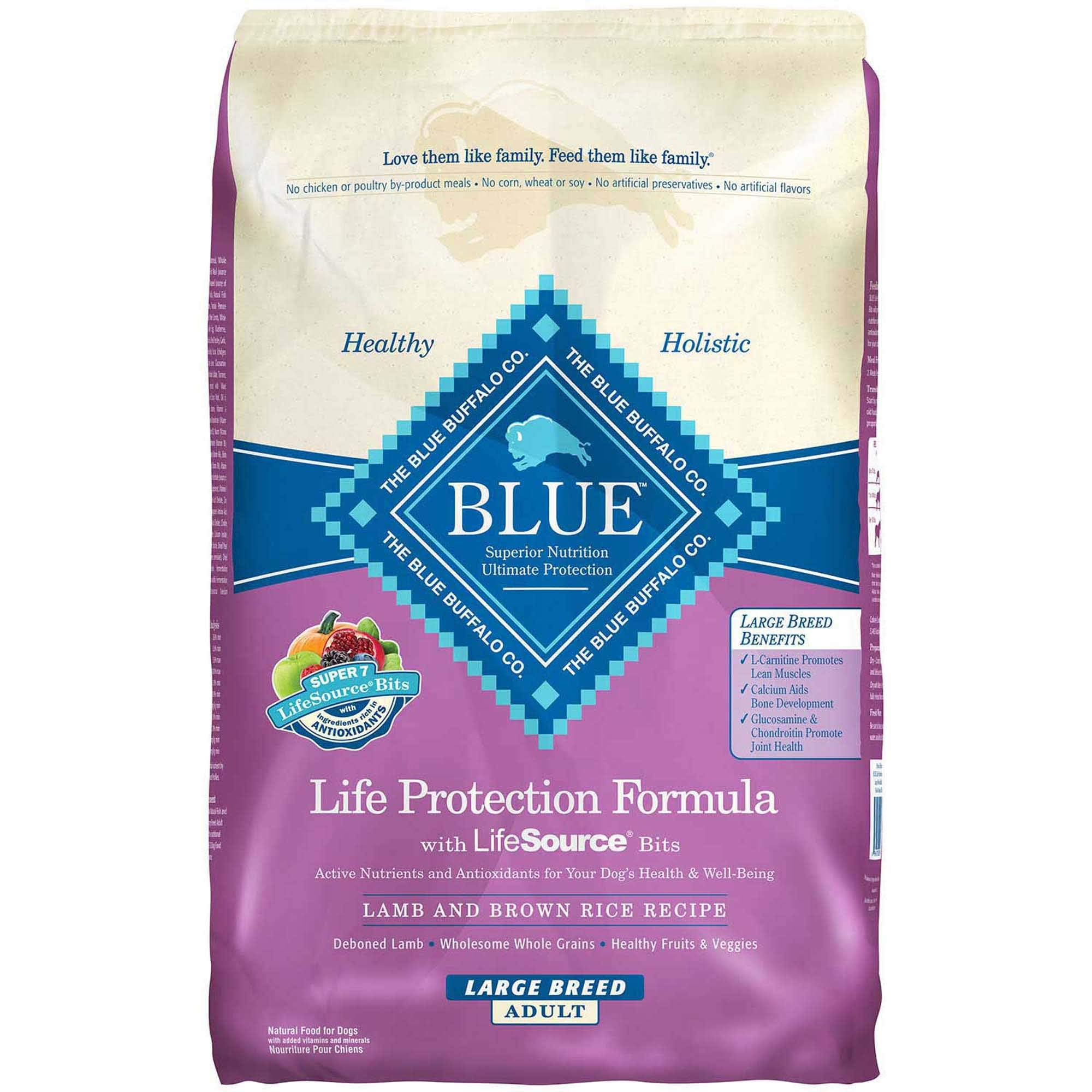 Blue Buffalo Life Protection Formula Natural Adult Large Breed Dry Dog Food