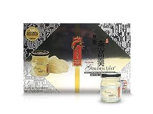 Golden Nest Premium Bird Nest Soup, Swallow Bird Nest 100% Natural - Made in USA, (燕窩) 6 bottles x 75ml (2.5 oz.) - (Sugar-Free)