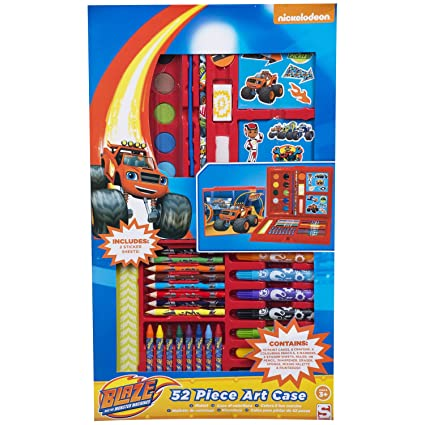 Set pintura Blaze and the Monster Machines 52pz