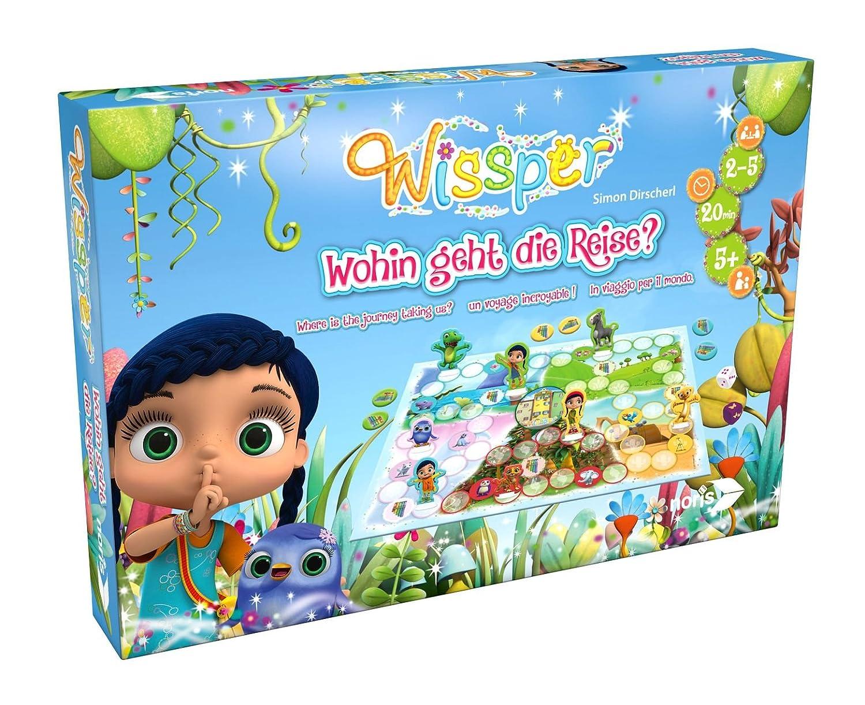 Noris Spiele 606011586 - Wissper - Wohin geht die Reise? Kinderspiel