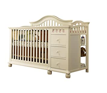 Amazon Com Sorelle Cape Cod Crib N Changer French White
