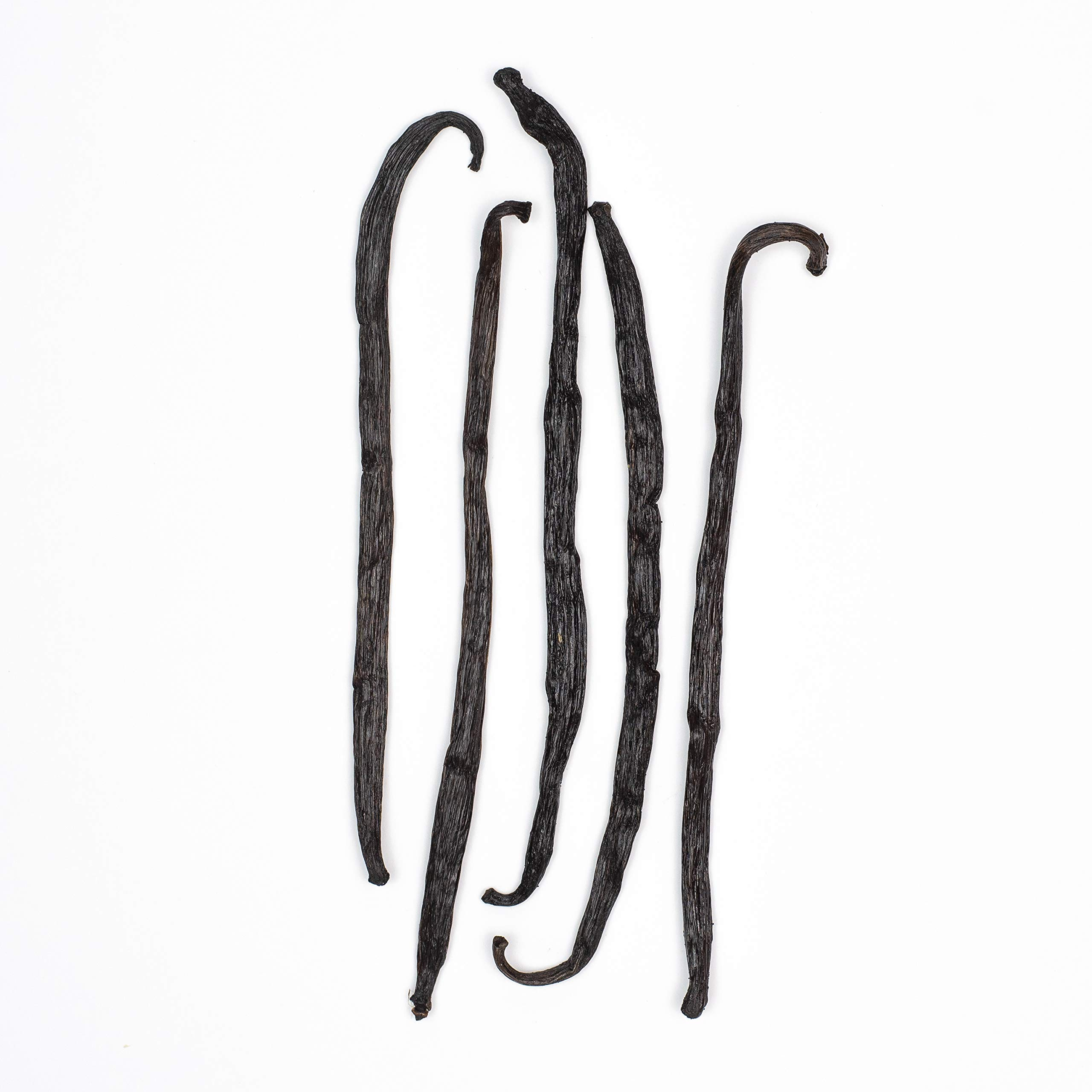 Vanilla Beans from Madagascar, Pack of 5