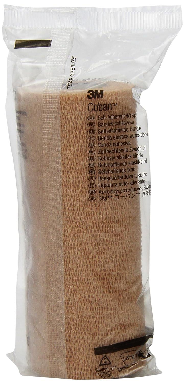 3M Coban Self-Adherent Wrap 1586 (Pack of 12)