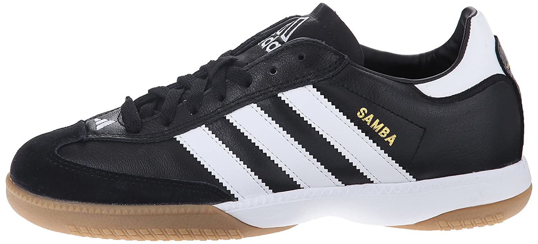 adidas Performance Soccer Men's Samba Millennium Indoor Soccer Performance Shoe B000W41A30 4.5 M US|Black/White/Gold 5f278d