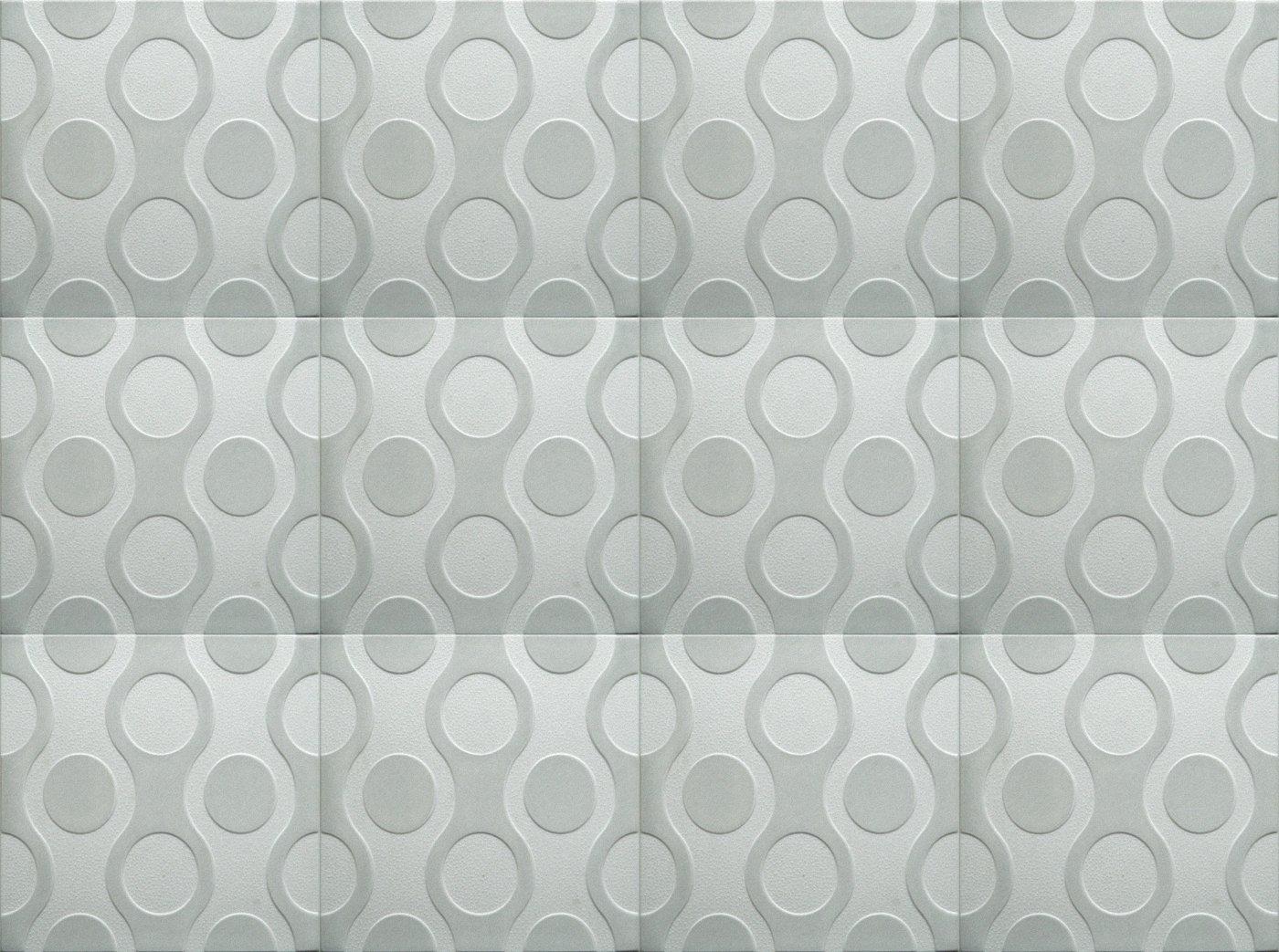 multicolor Poliestireno de pared decorativos paneles de techo azulejos Breez G 500 x 500 mm