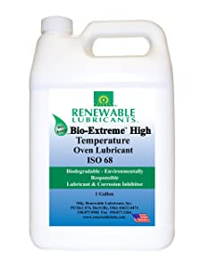 Renewable Lubricants Bio-Extreme ISO 68 High Temperature Oven Lubricant, 1 Gallon Jug
