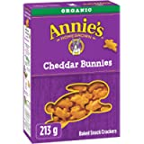 Annie's Homegrown Organic Cheddar Bunnies Baked Snack Crackers, 213 Grams