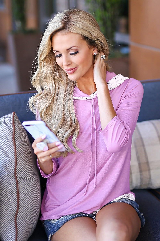 Greentree Womens Lace Long Sleeve Tunic Top Blouse Sweatshirt