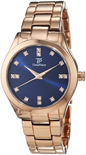 Time Piece Damen-Armbanduhr Fashion Analog Quarz Alloy TPLA-91021-35M