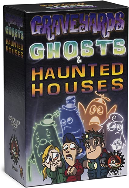 Rather Dashing Games Graveyards Ghosts /& Haunted Houses Board Game