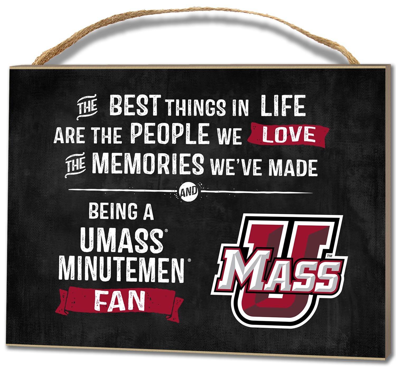 KH Sports Fan 4''X5.5'' Massachusetts (Umass-Amherst) Minutemen Best Things Small College Plaque by KH Sports Fan (Image #1)