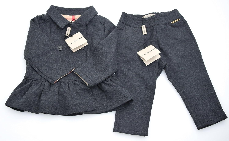 Burberry Traje Pantalones Y Chaqueta para NIÑA Gris Art ...