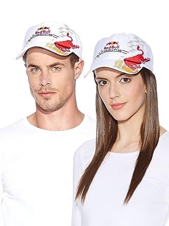 Red Bull Racing - Gorra (talla única), color blanco: Amazon.es ...