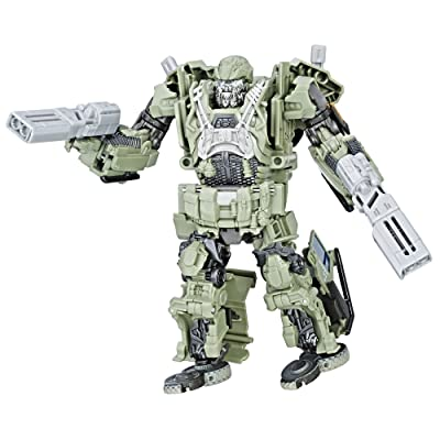 Transformers: The Last Knight Premier Edition Voyager Class Autobot Hound: Toys & Games
