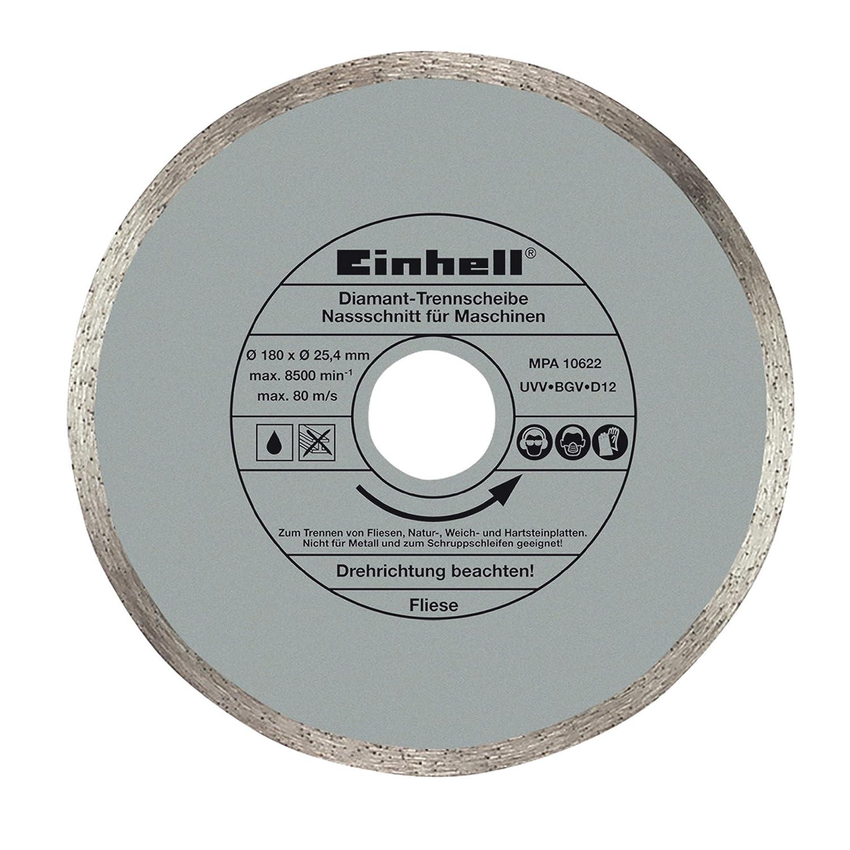 Einhell Grey Diamond Tile Cutting Disc 180 x 25, 4mm 4301170