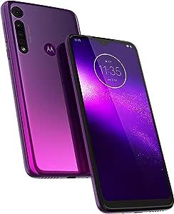 Motorola 4607571 One Macro 4/64 GB Smartphone, Ultra Violet