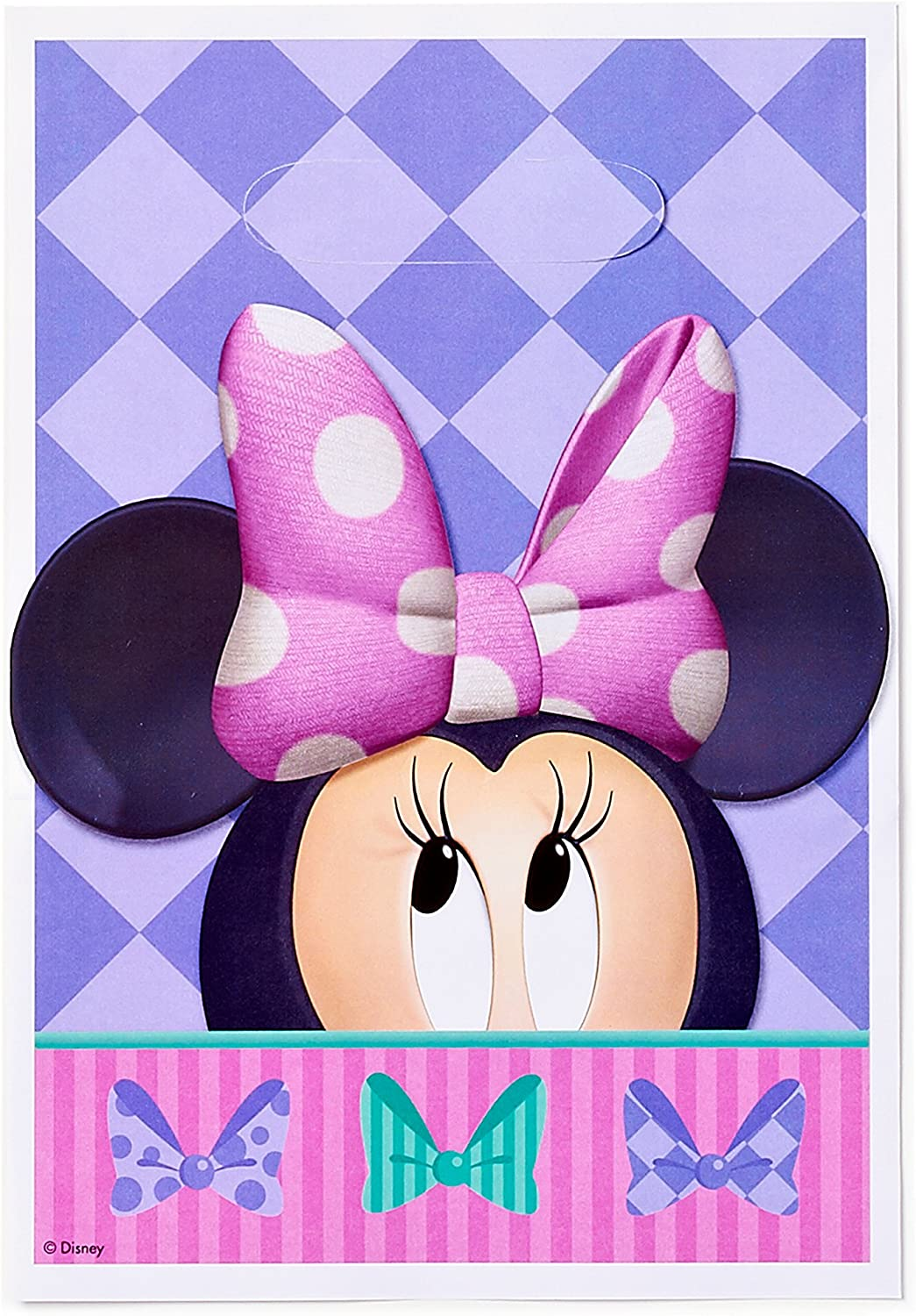 Minnie mouse /& Mickey mouse treat bagslabels-digital-printed-Minnie mouse party bags-favor bags-gift bags-party favor bags-candy bag labels